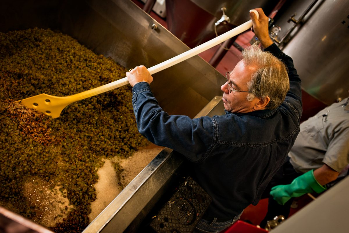 Larry Sidor, co-founder and master brewer at Crux Fermentation Project