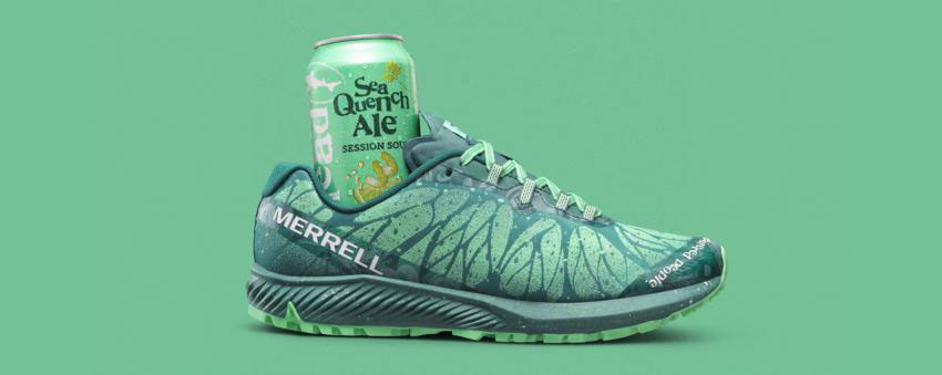 Merrell X Dogfish Agility Synthesis X Beer shoes